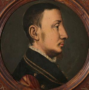 René de Châlon at 23 years old, 1542   (by or after Jan van Scorel) (1495-1562) Rijksmuseum, Amsterdam   SK-A-4462