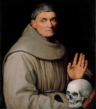 A Franciscan Friar, ca. 1540-1542 (Jacopo Bassano, dal Ponte) (1510-1592) Kimbell Art Museum, Fort Worth, TX 1997.02