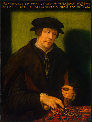 An Almoner from Antwerp, 1542 (Unknown Artist) National Gallery of Art, Washington D.C. 1956.3.2