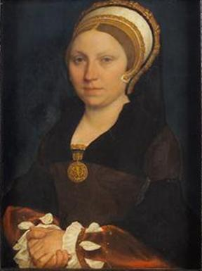 An English Woman, ca. 1540-1543 (Hans Holbein the Younger) (1497-1543) Kunsthistorisches Museum, Wien GG_847