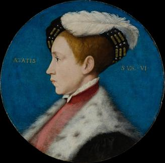 Edward VI at 6 years old, 1543 (workshop of Hans Holbein the Younger) (1497-1543) The Metropolitan Museum of Art, New York, NY 49.7.31