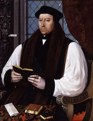 Thomas Cranmer, 1545 (Gerlach Flicke)      (???-1553)  National Portrait Gallery, London  535
