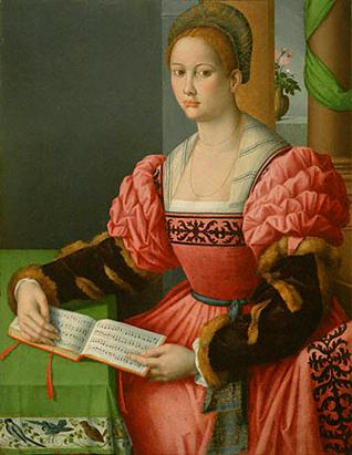 A Woman, ca. 1540-1545 (Bacchiacca) (1494-1557) J. Paul Getty Museum, Los Angeles, CA 78.PB.227