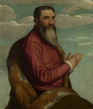 A Man, ca. 1545  (Moretto di Brescia) (1498-1554) The National Gallery, London