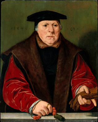 A Man at 63 years old, 1545 (attributed to Jan Cornelisz. Vermeyen) (1500-1559) The Metropolitan Museum of Art, New York, NY 1982.60.27