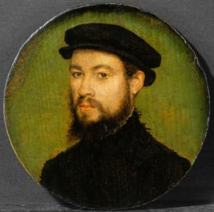 A Man, ca. 1545 (attributed to Corneille de Lyon) (1500-1575) The Metropolitan Museum of Art, New York, NY 1982.60.41