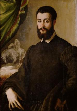 A Man of the Santa Croce Family, 1540-1550 (Francesco Salviati) (1510-1563) Kunsthistorisches Museum, Wien    GG_296 de rossi