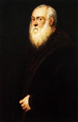 A White-Bearded Man ca. (Tintoretto) (1518-1594) Kunsthistorisches Museum, Wien