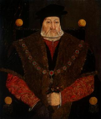 Charles Brandon, 1st Duke of Suffolk,  ca. 1545   (Unknown Artist) National Portrait Gallery, London    516