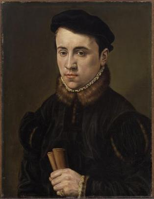 A Young Man, ca. 1540-1545 (Unknown  Dutch Master) Kunsthistorisches Museum, Wien    GG_839
