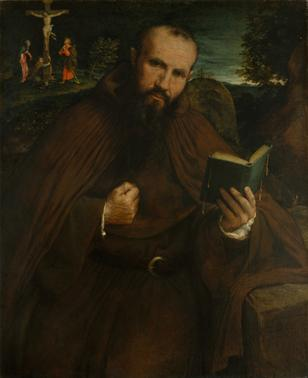 Brother Gregorio Belo of Vicenza, 1547 (Lorenzo Lotto) (1480-1556) The Metropolitan Museum of Art, New York, NY 65.117