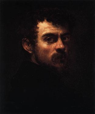 Self-Portrait, ca. 1547   (Tintoretto) (1518-1594) Philadelphia Museum of Art     1983-190-1