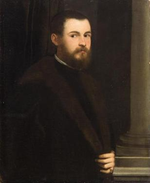 A Young Man, ca. 1547-1548 (Tintoretto) (1518-1594)Kunsthistorisches Museum, Wien GG_11