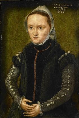 A Woman, ca. 1548   (Caterrina van Hemessen) (1528-c.1587)   Location TBD