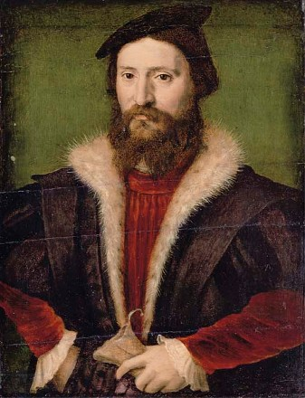 A Man, ca. 1545 by the circle of Corneille de Lyon, ca. 1500-1575 Christie's Old Masters Sale