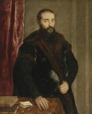 A Man, ca. 1540 probably by Titian, 1488-1576 Sotheby's Sale, N08712