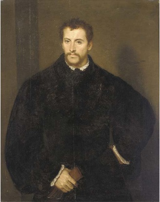 A Gentleman, ca. 1545 (follower of Titian) (1488-1576) Christie's Old Master Sale 9607 Lot 208