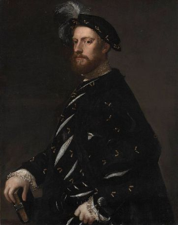 A Man, ca. 1540 by Titian, ca. 1488-1576 Museum of Fine Arts, Boston, 43.83