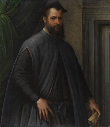 A Prelate, ca. 1540 (Jacopino del Conte) (1515-1598) Museum of Fine Arts, Boston, 1999.1042