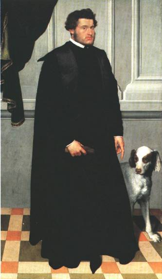 Gian Lodovico Madruzzo, ca. 1551-1552 (Giovanni Battista Moroni) (1522-1579)   Art Institute of Chicago, IL