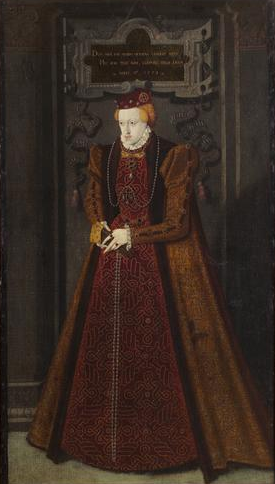Archduchess Maria of Jülich-Cleves-Berg (Unknown Dutch Artist) Kunsthistorisches Museum, Wien, GG_8186