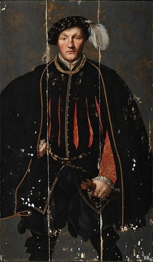 A Man, possibly William West, 1st Lord De La Warr, ca. 1550 (Unknown British School Artist) Tate Britain, London, N04252