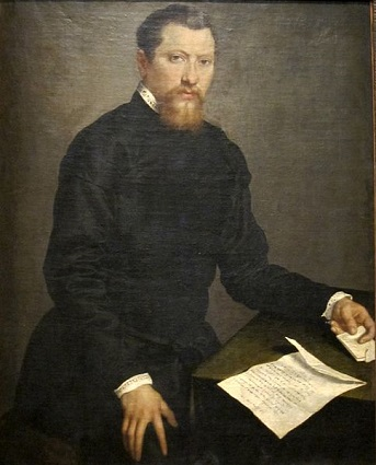 A Man, 1553 (Giovanni Battista Moroni) (1524-1578)   Honolulu Academy of Arts, HI