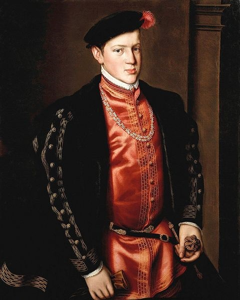 Joao Manuel 1552 Prince of Portugal by Antonis Mor 1519-1575  Location TBD