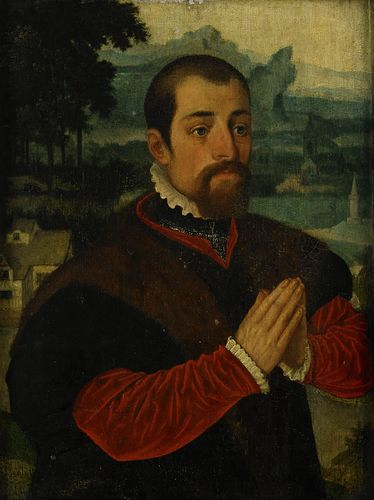 A Man ca 1550 attributed to Ambrosius Benson  Auktionsverket