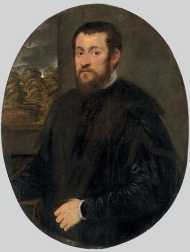 A Man ca 1550 by Jacopo Tintoretto Christies Old Masters January 28 2015 Lot 114