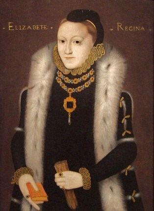 Queen Elizabeth, 1558   (Unknown Artist)    Location TBD