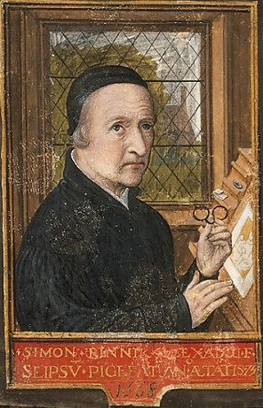 Self-Portrait,  1558 (Simon Bening) (1483-1561)   The Metropolitan Museum of Art, New York, NY,   DT 3622