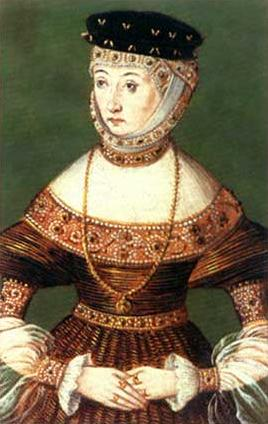 Barbara Radziwillona, ca. 1550  (Unknown Polish Court Painter) Location TBD