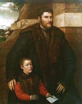 A Man and his son, 1552 (Giulio Licinio)   Location TBD