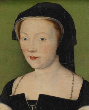 Marie of Guise, ca. 1550  Lorraine Corneille de Lyon 1500-1575   Indianapolis Museum of Art IN    C10027