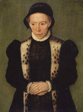 A Woman, ca. 1550  (Catharina de Hemmesen)   (1528- 1587)   Location TBD