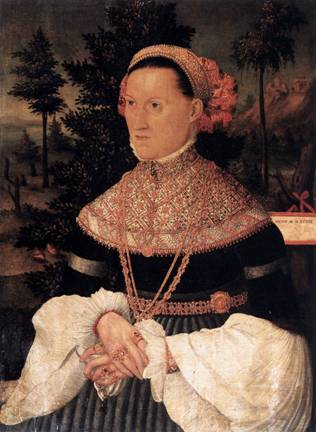A Lady,  ca. 1550  (Unknown German  Master) Staatliche Museen zu Berlin
