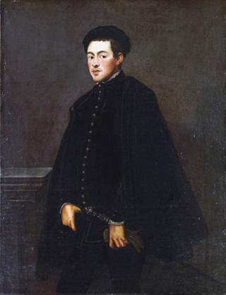 A Young Venetian Man, 1551  (Tintoretto) (1518-1594)The Metropolitan Museum of Art, New York, NY     58.49
