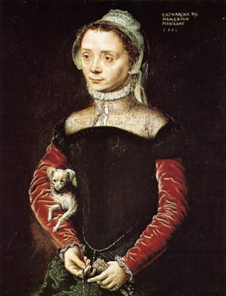A Woman, 1551 (Catharina de Hemmesen) (1528-1587) Location TBD