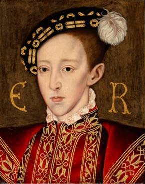 Edward VI (r. 1547-1553) ca. 1551  (Unknown English Artist) Philip Mould, Ltd., London