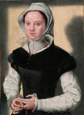 A Woman, ca. 1552   (Catharina de Hemmesen) (1528-c.1587)       Location TBD