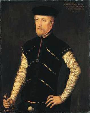 A Man, ca. 1552 (Catharina de Hemmesen)    (1528-c. 1587)    Location TBD
