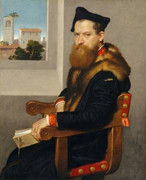 Bartolommeo Bonghi, shortly after 1553  (Giovanni Battista Moroni) (1524-1578)     The Metropolitan Museum of Art, New York, NY   13.177