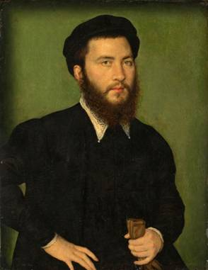 A Man, ca. 1550-1560 (Corneille de Lyon) (1500-1575) The Art Institute of Chicago, IL  1953.466