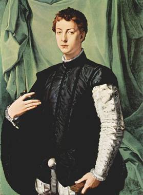 Lodovico Capponi, ca. 1550-1555 (Bronzino)  (1503-1572)       The Frick Collection New York, NY   1915.1.19
