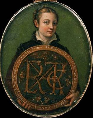 Self-Portrait,  ca. 1556    (Sofonisba Anguissola) (1530-1625) Museum of Fine Arts, Boston, MA