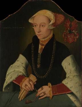 A Woman of the Slosgin Family, 1557 (Barthel Bruyn The Younger)The Metropolitan Museum of Art, New York, NY 32.100.50