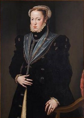 Infanta Maria of Spain, ca. 1557   (Unknown Dutch Artist)  Kunsthistorisches Museum, Wien  GG_1042