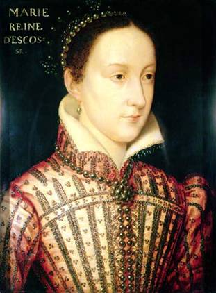 Mary Queen of Scots, ca. 1560-1561 (school of Francois Clouet) (1510-1572)    Location TBD