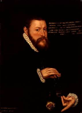 Sir Thomas Chaloner, 1559 (Unknown Artist)    National Portrait Gallery, London   1274